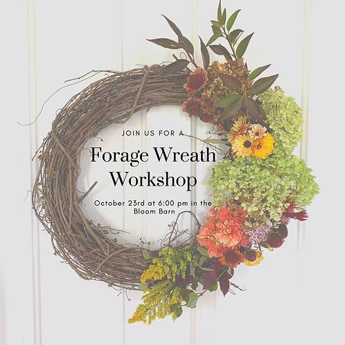 Forage Wreath Workshop
