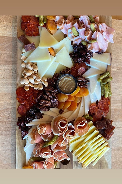Bevies, Cheese & Blooms