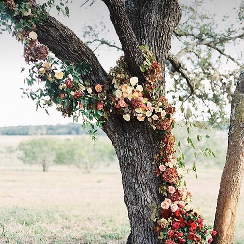 Floral Installations  for Styled Photo Shoot