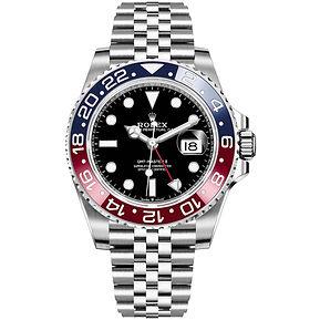 Rolex GMT-Master II 126710BLRO %22Pepsi%