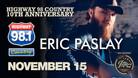 Eric Paslay & Luke Langford Band 11/15/19