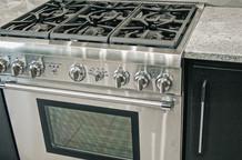 modern kitchen stove