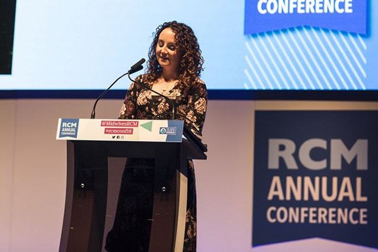 Jane Fisher, Royal College of Midwives annual conference