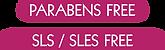 Parabens sls free