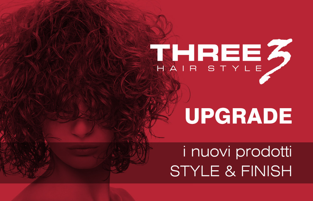 Vai alla Linea THREE HAIR STYLE