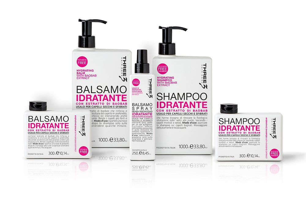 Vai alla Linea THREE HAIR CARE