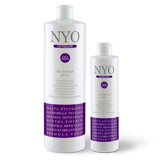 No Yellow Hair Shampoo