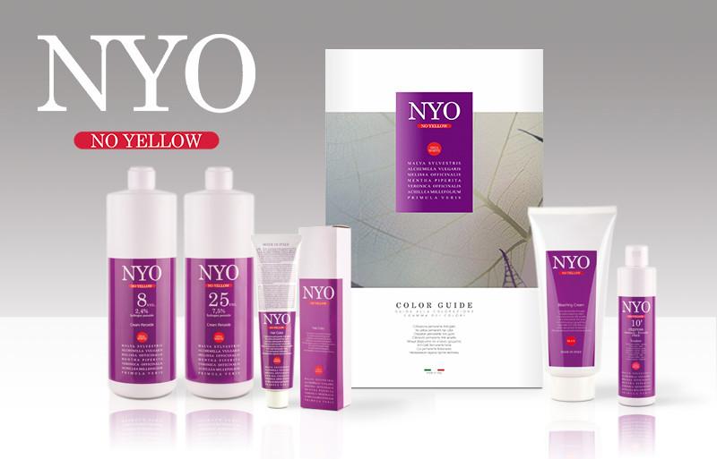 NYO - no yellow / Hair color