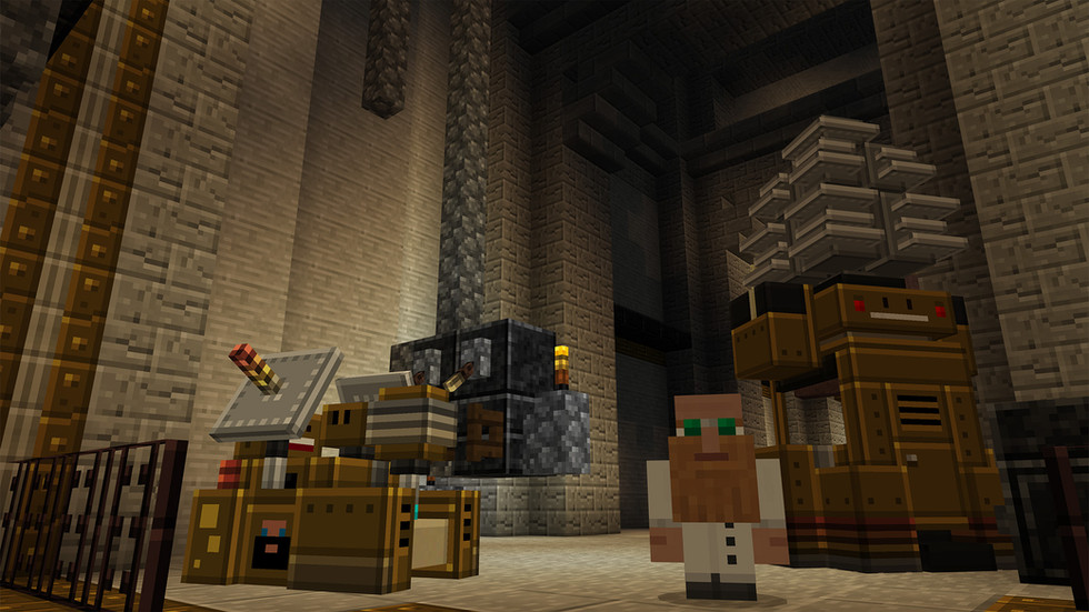 The engineer's shop- the best place in the underground to purchase mechanical marvels.