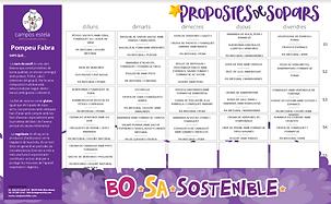 Sopar Novembre 2020 - escola Pompeu Fabr