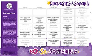 Sopars Octubre 2020 - escola Pompeu Fabr
