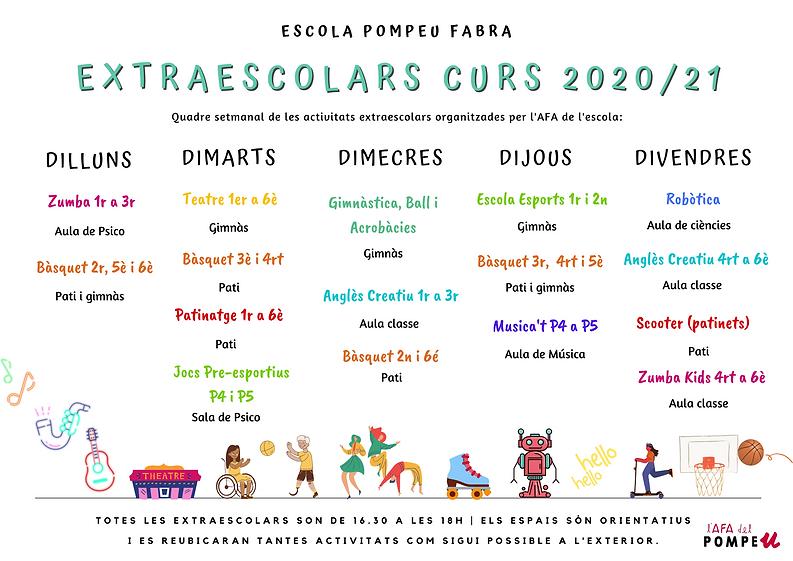 Extraescolar Pompeu 2020_21