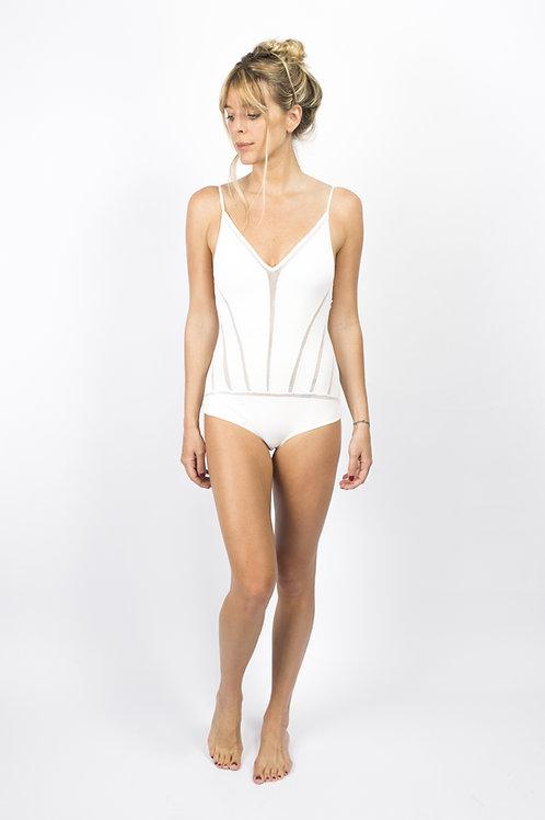 Body recortes off-white
