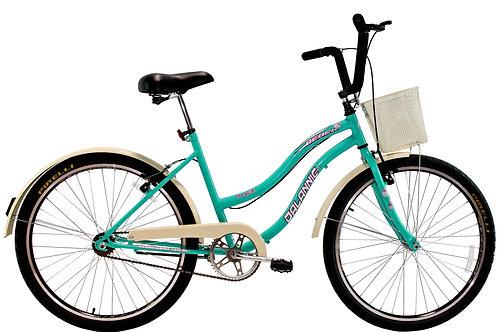 Bicicleta DALANNIO Beach Retrô 26 Feminina sem marchas