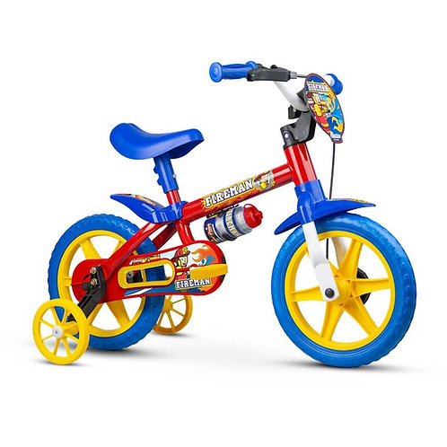 Bicicleta NATHOR Infantil aro 12 Fireman