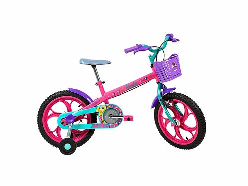 Bicicleta CALOI infantil Barbie 16