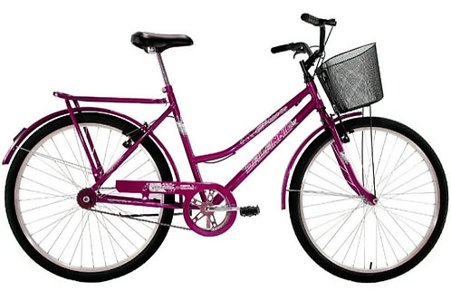 Bicicleta DALANNIO Classic 26 feminina freio V-Brake