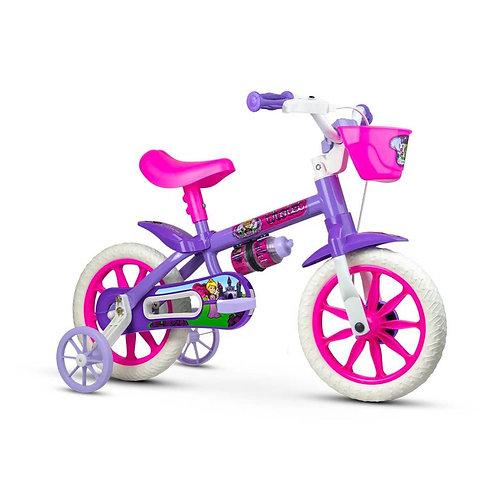 Bicicleta NATHOR Infantil aro 12 Violet