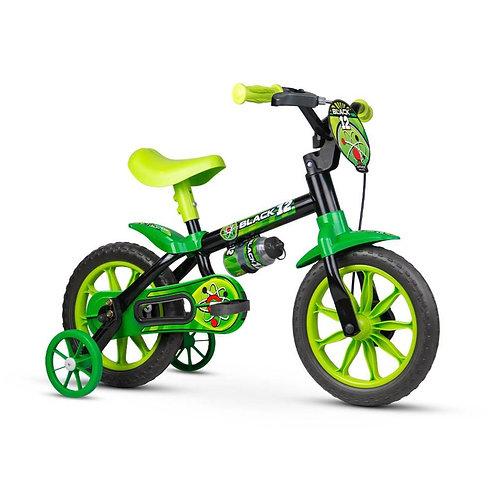 Bicicleta NATHOR Infantil aro 12 Black