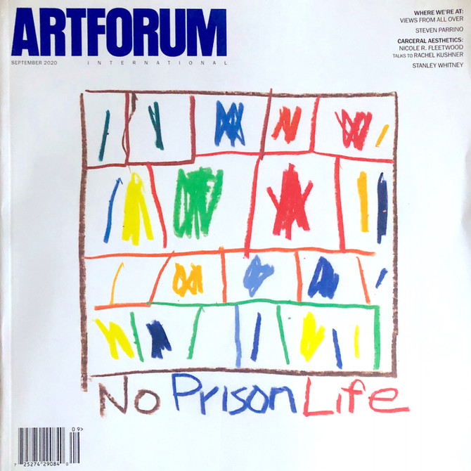 ArtForum Sept 2020