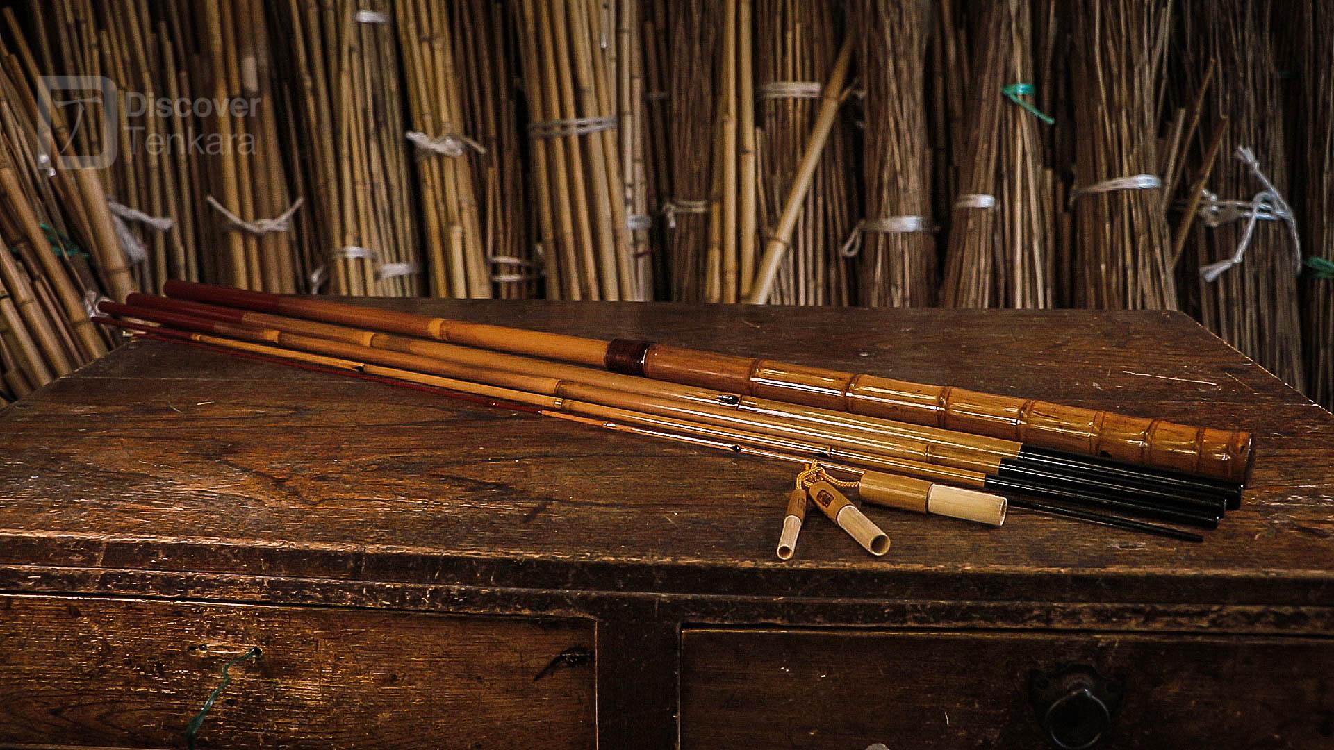 Canne Tenkara Bambou Edo wazao