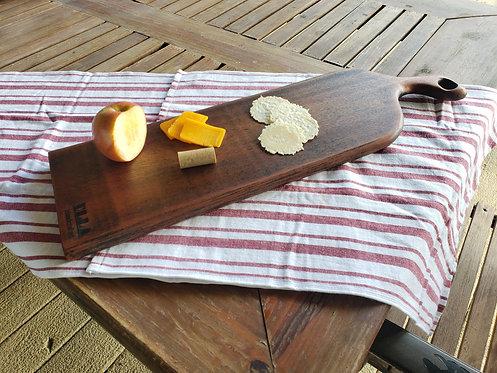 8x24 Hardwood Charcuterie/Cutting Board