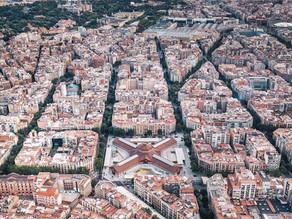 Barcelona nhìn từ trên cao