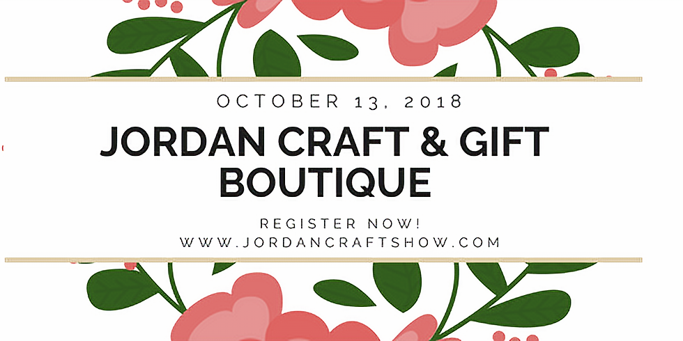 14th Annual Jordan Craft & Gift Boutique