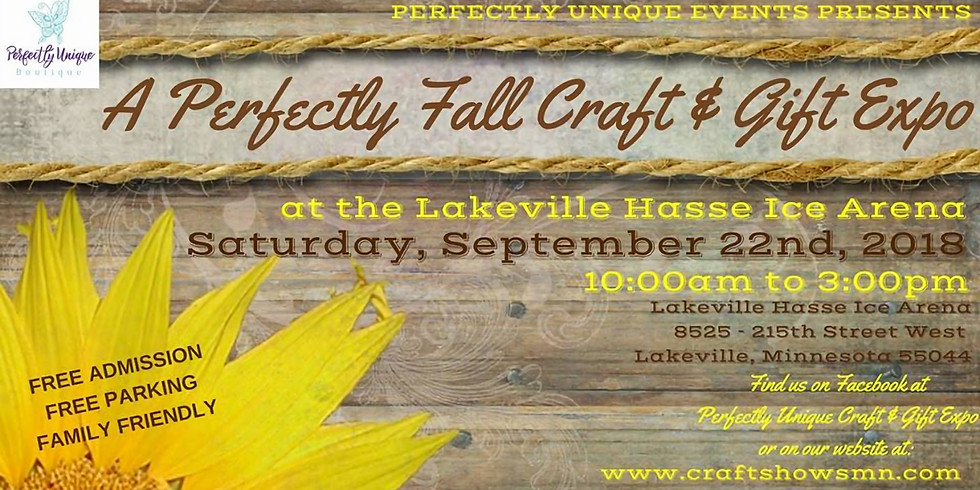 A Perfectly Fall Craft and Gift Expo