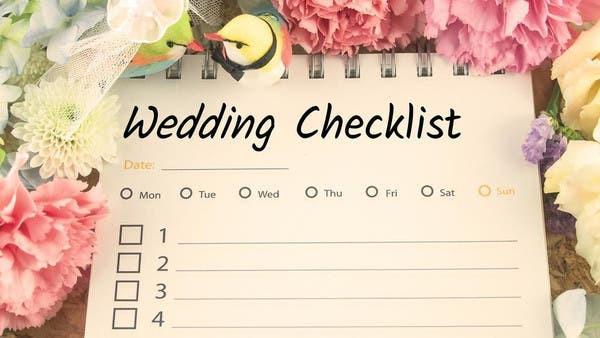 D-DAY CHECKLIST FOR YOUR DESTINATION WEDDING IN GOA