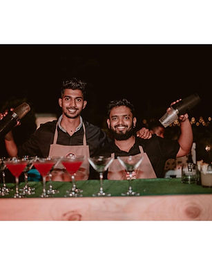 bar services for weddings in goa