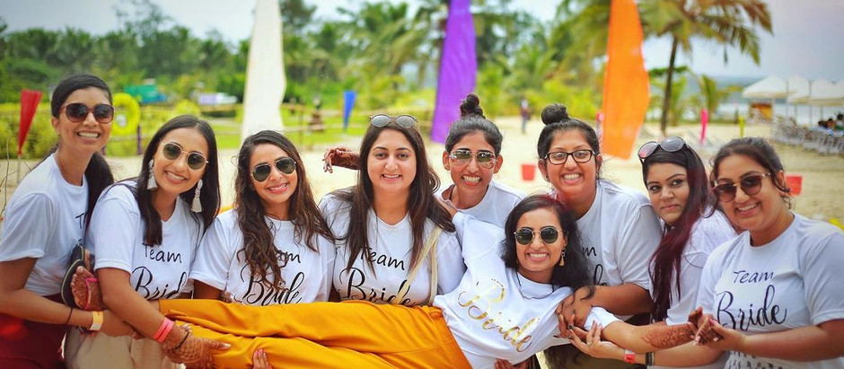 SQUAD GIFTS AT YOUR DESTINATION WEDDING IN GOA