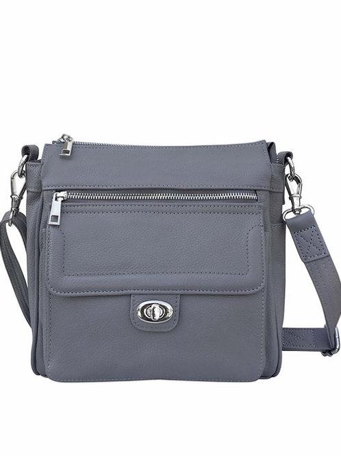 LEATHER CONCEALMENT CROSSBODY BAG (Front Pocket)