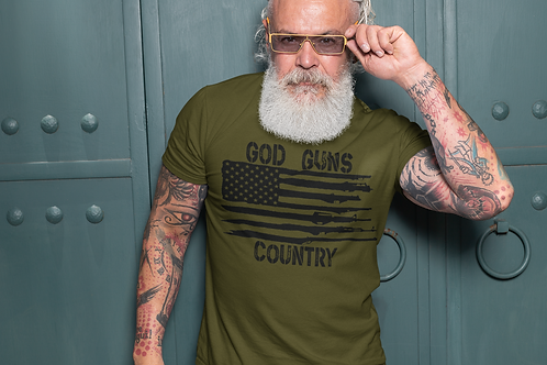 God, Guns, Country Tee