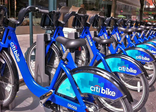 Bike Share in New York City is branded under the name Citi bike