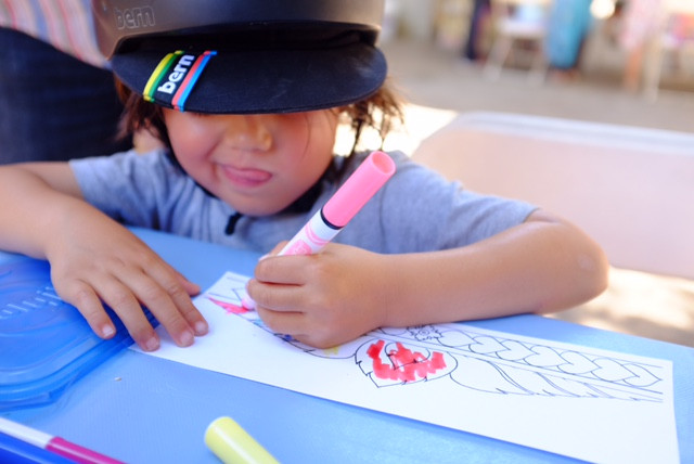 Barnsdall Arts Free Family Art Workshop