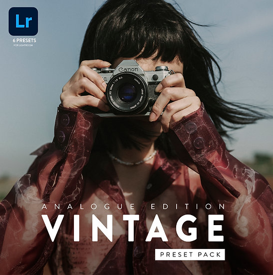 VINTAGE Lightroom Presets by Angela Garcia
