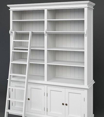 Medium Library Unit with Ladder