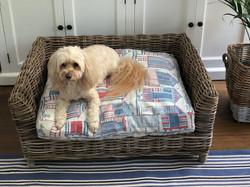 Hamptons Pet Bed