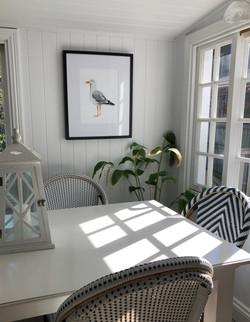 Hamptons Bird Artwork 2