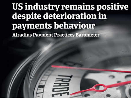 US industry remains positive despite deterioration in payments behaviour - ATRADIUS