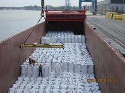 sugar cargo loading