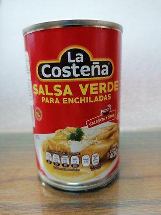 Salsa Verde para Enchiladas Costeña 420g