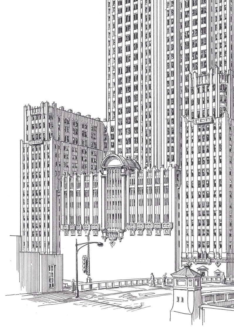 Civic Opera Detail