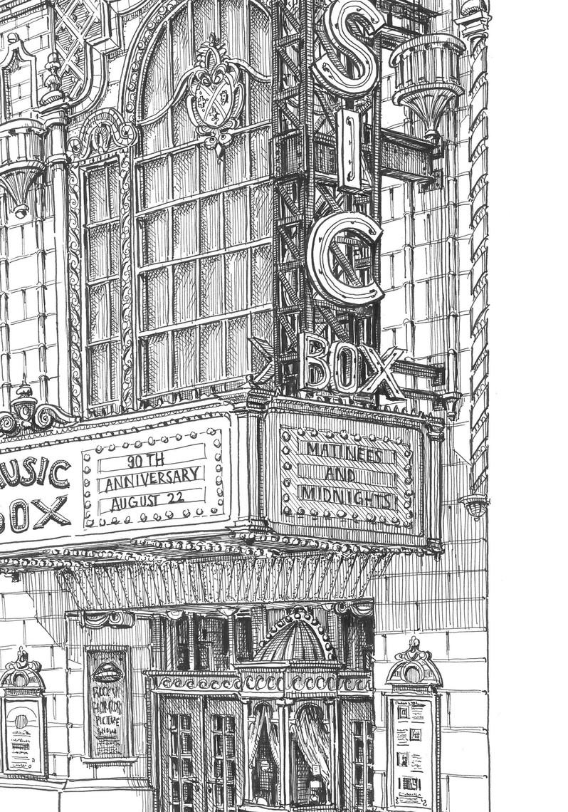 Music Box Theater Detail
