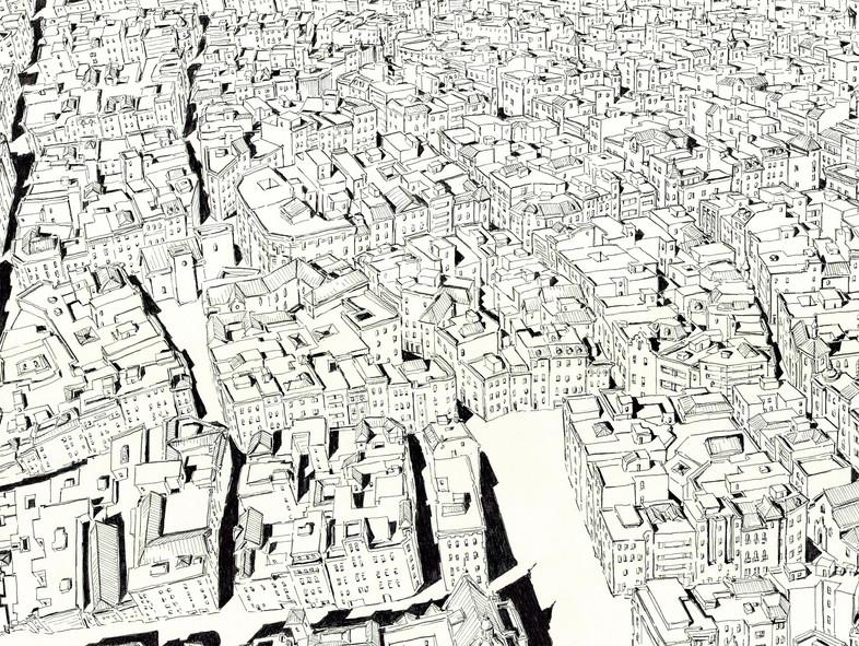 Sevilla Aerial Detail 2