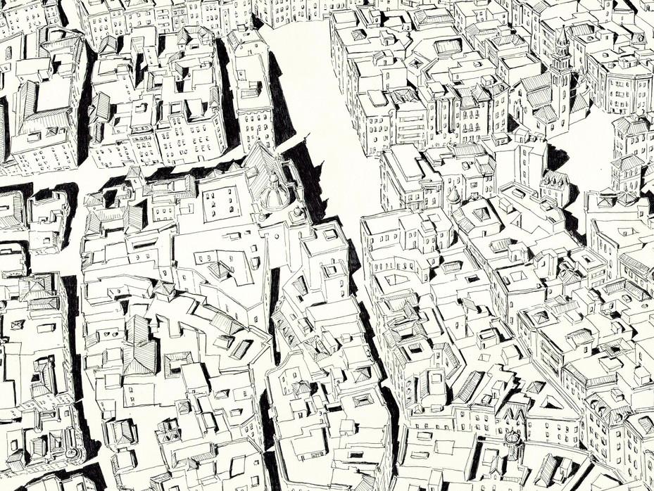 Sevilla Aerial Detail 1
