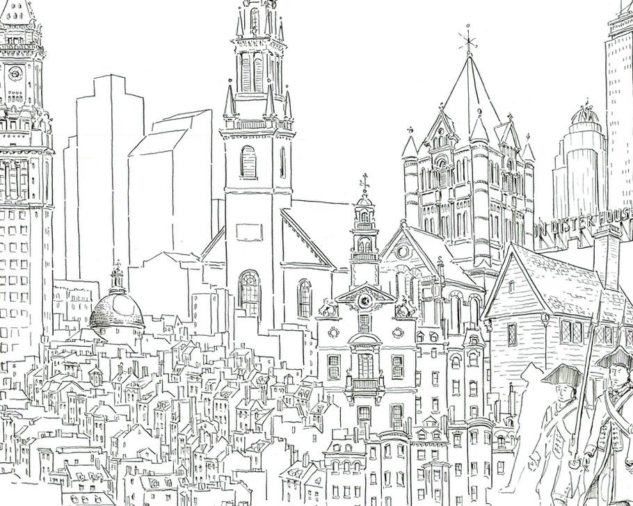 Boston Monuments Detail