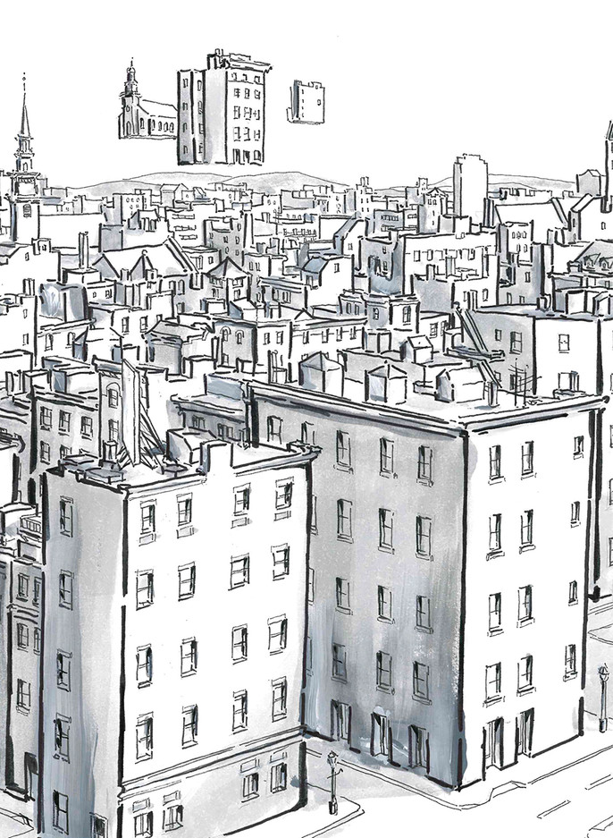 North End Surrealism Detail