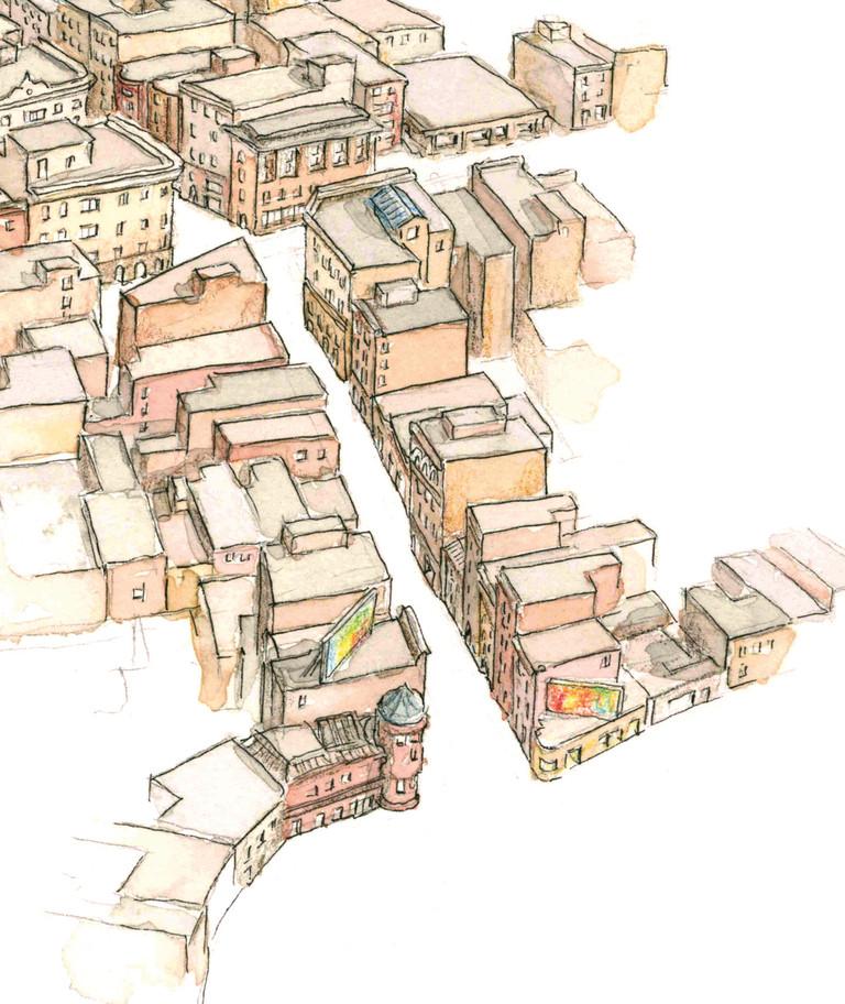 Boston Salem Street Detail